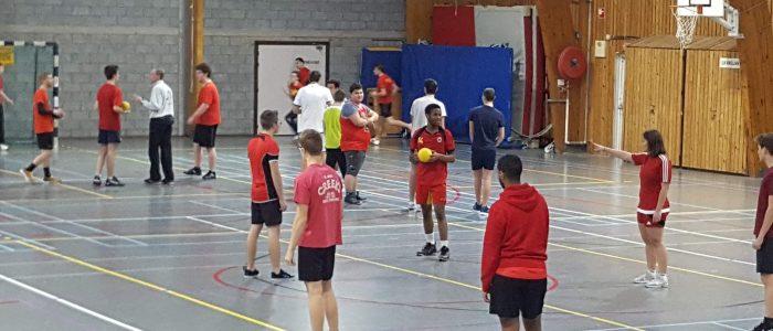 IPES - Tubize - Education physique - Handball